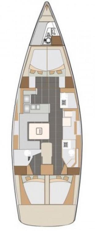 Location yacht à Marina Kaštela - Elan Impression 50 sur SamBoat