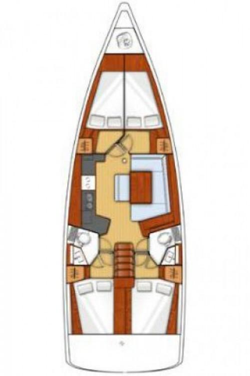 Bénéteau Oceanis 45 entre particulares y profesional Trogir