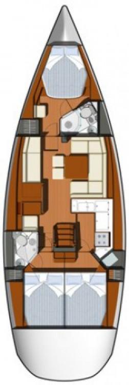 Location bateau Jeanneau Sun Odyssey 45 DS à Jezera sur Samboat