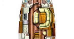Louez un Jeanneau Sun Odyssey 49 à Jezera