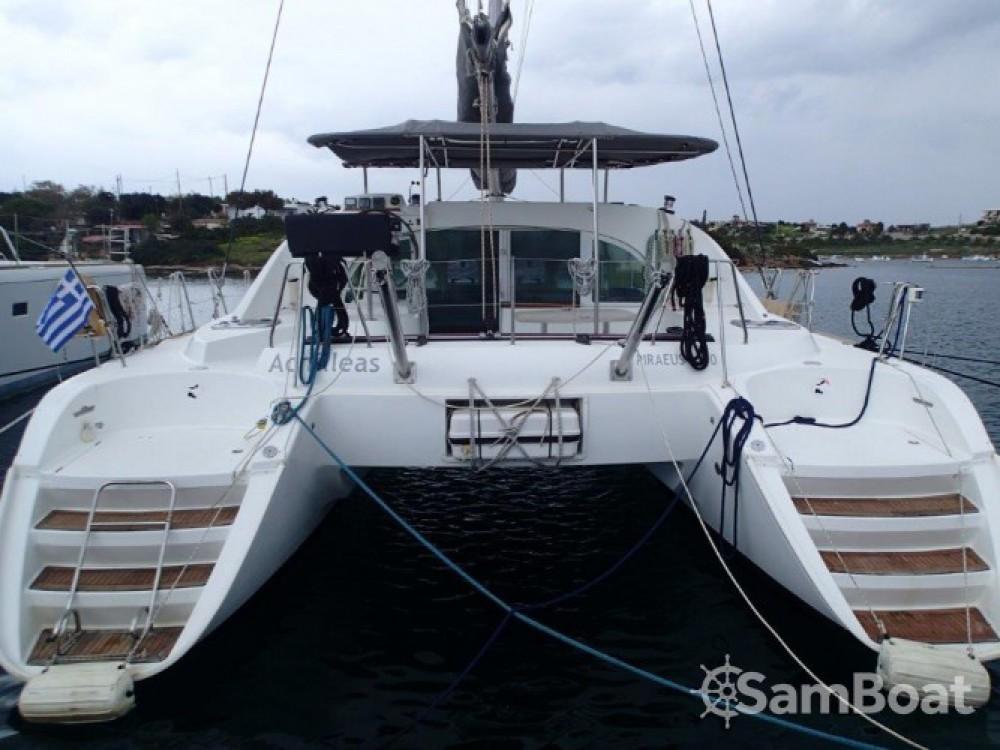 Alquiler de Catamarán, con o sin patrón Lagoon Lávrio