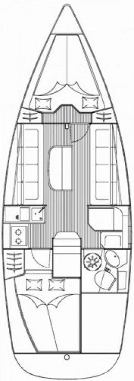 Alquiler de Bavaria Cruiser 30 en Jezera