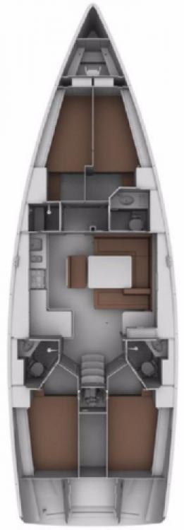 Bavaria Cruiser 45 entre particulares y profesional Sukošan