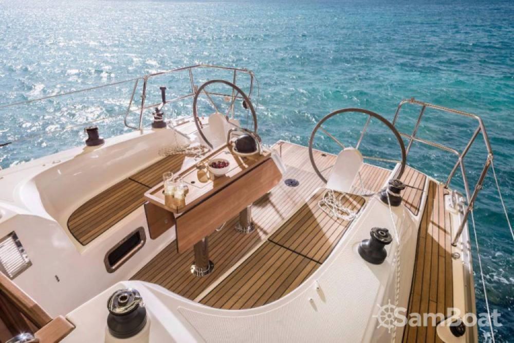 Bavaria Cruiser 34 between personal and professional Marina Kornati