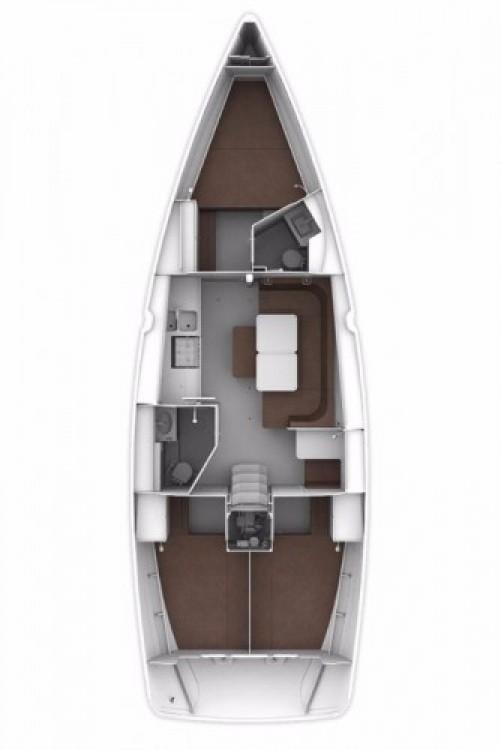 Sailboat for rent Marina Kornati at the best price