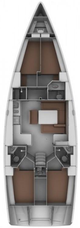 Boat rental Marina Kornati cheap Cruiser 45