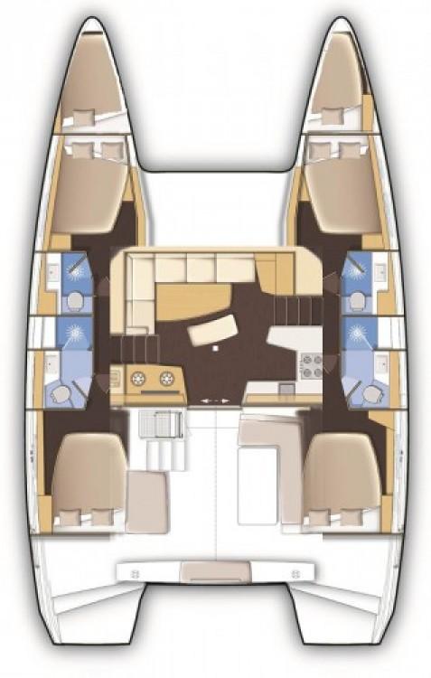 Rental yacht Marina Kornati - Lagoon Lagoon 42 on SamBoat
