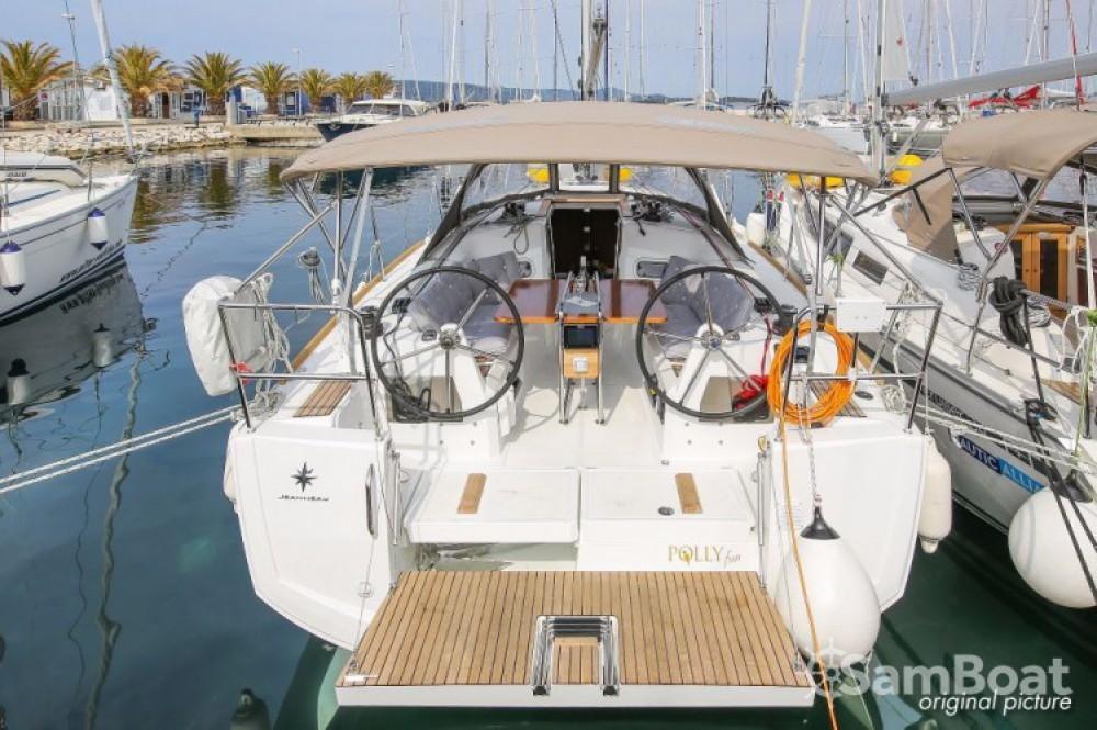 Rent a Jeanneau Sun Odyssey 349 Marina Kornati