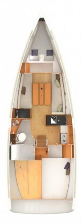 Boat rental Jeanneau Sun Odyssey 349 in Zadar on Samboat