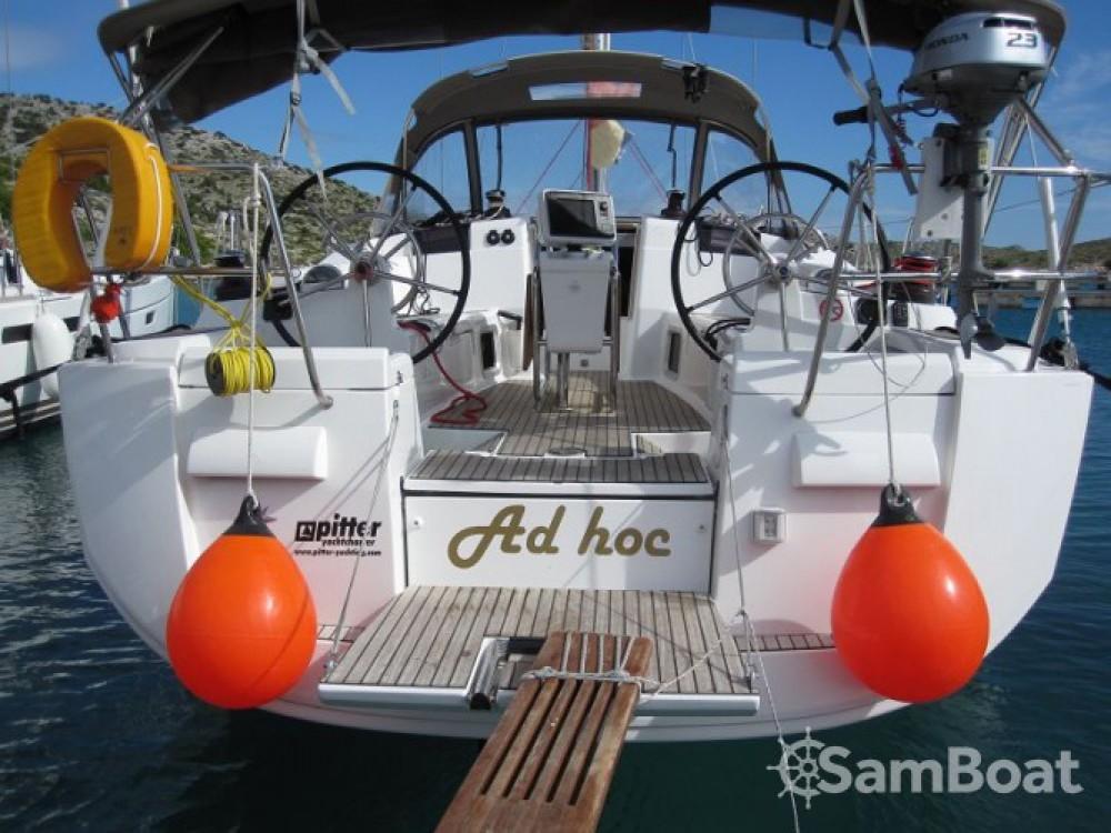 Boat rental Trogir cheap Sun Odyssey 409