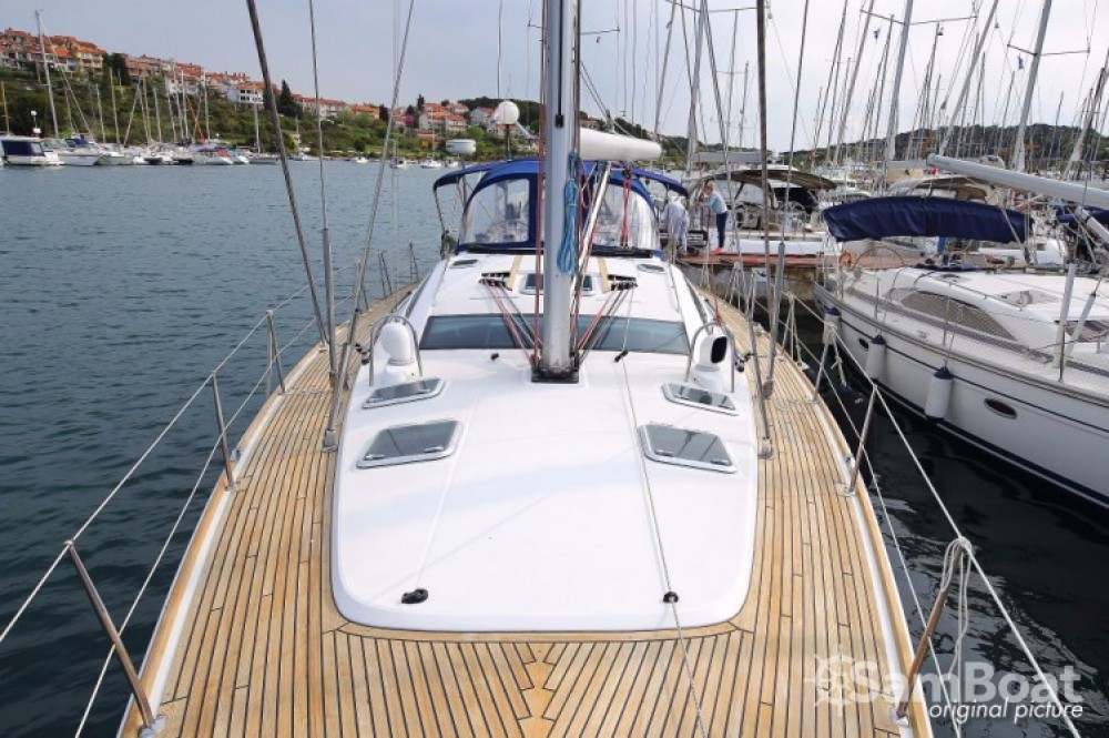 Boat rental Jeanneau Sun Odyssey 54 DS in Zadar on Samboat