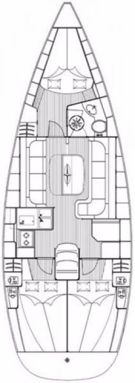 Boat rental Marina Punat cheap Cruiser 37