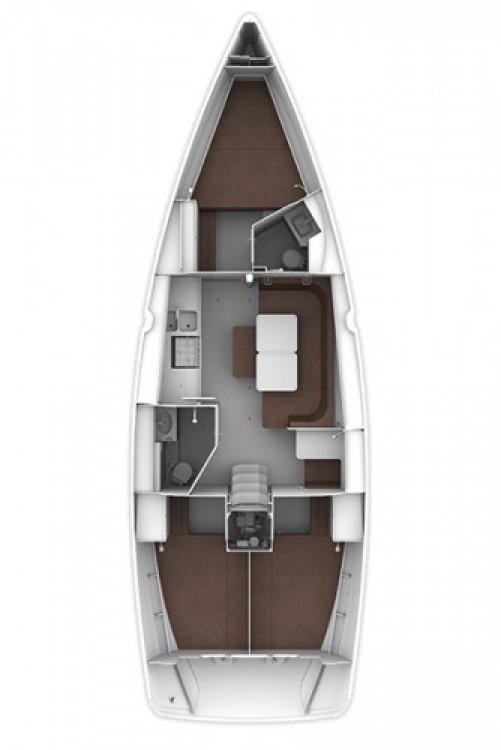 Boat rental Trogir cheap Cruiser 41