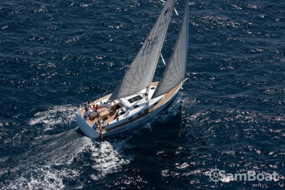 Bavaria Cruiser 45 between personal and professional Trogir