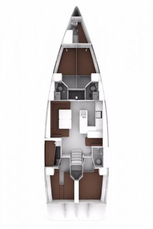 Location bateau Bavaria Cruiser 56 à Leucade sur Samboat