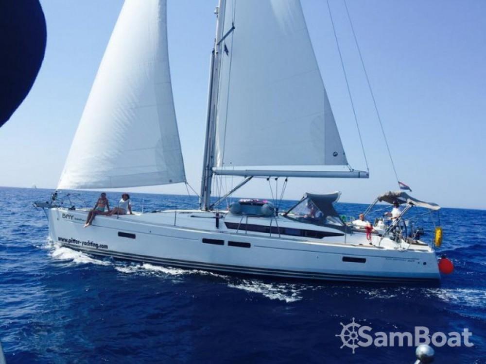 Boat rental Trogir cheap Sun Odyssey 469