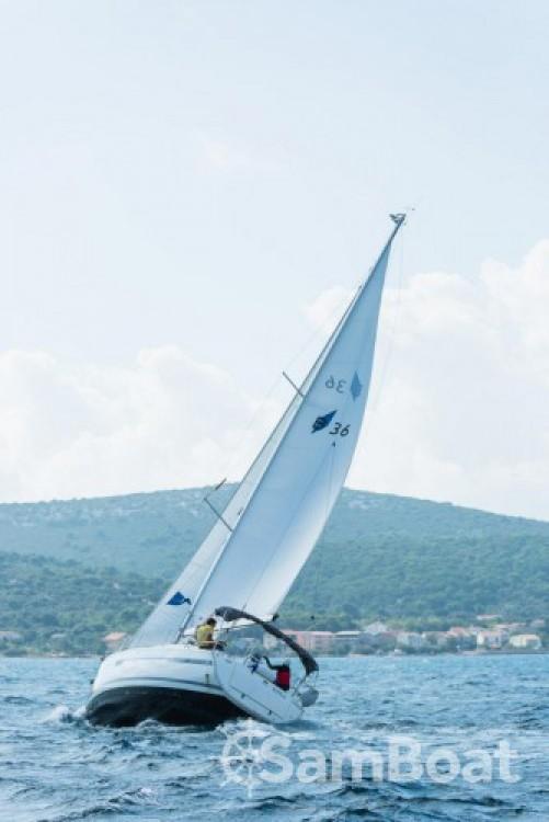 Bavaria Cruiser 36 between personal and professional Marina Kornati