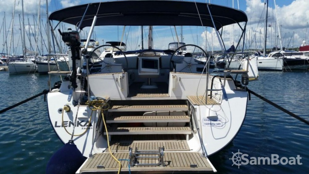 Rental yacht Marina Kornati - Elan Elan 514 Impression - 4 + 1 cab. on SamBoat