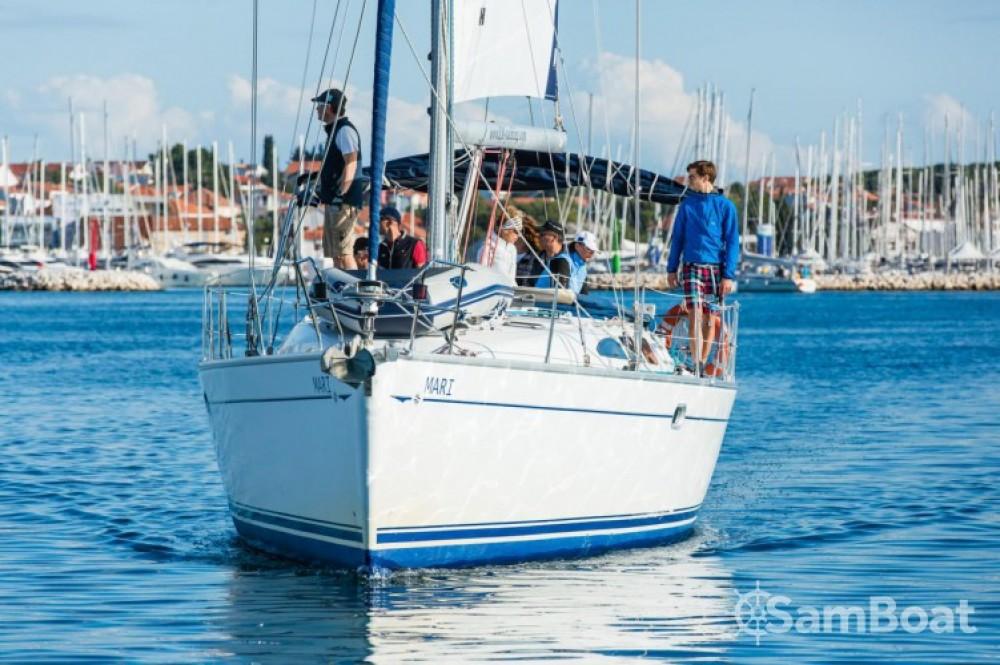 Jeanneau Sun Odyssey 43 between personal and professional Marina Kornati