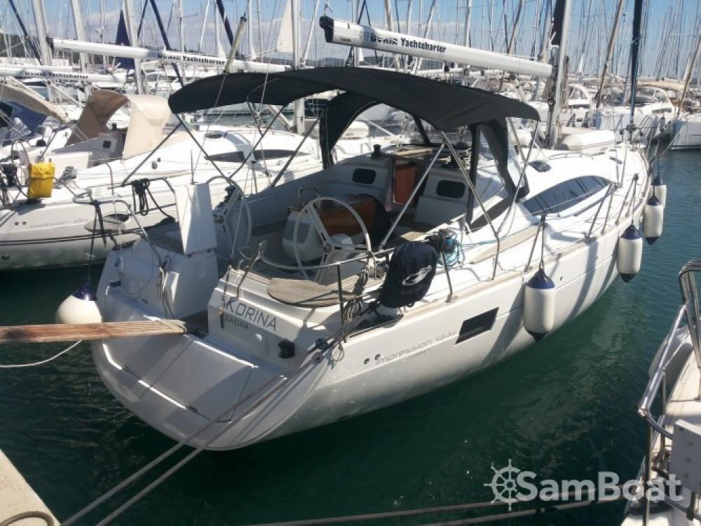 Boat rental Marina Kaštela cheap Elan 444 Impression