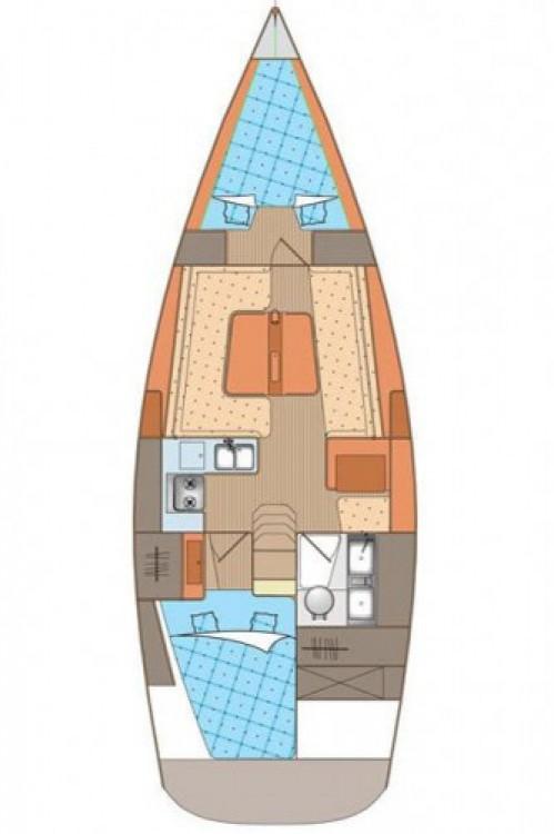 Rent a Elan Elan 340 Marina Kornati