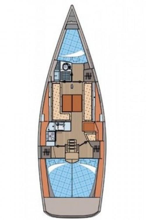 Rental Sailboat in Marina Kornati - Elan Elan 350