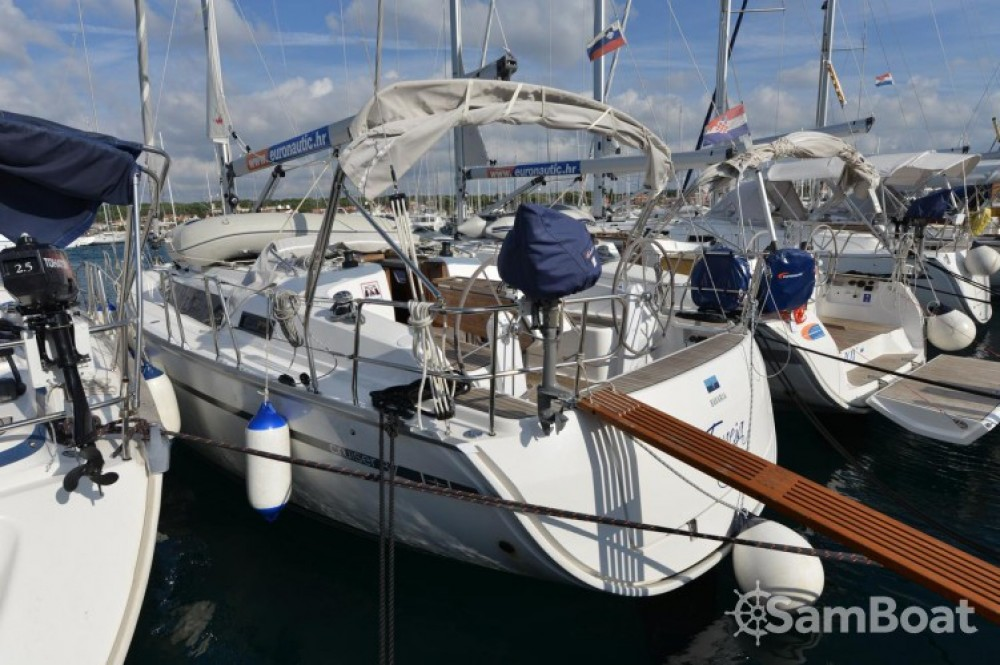 Bavaria Cruiser 37 between personal and professional Marina Kornati
