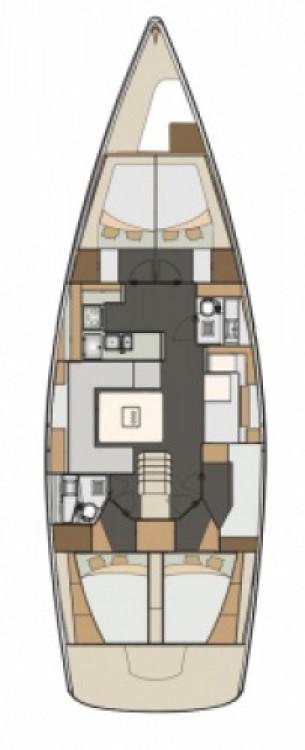 Location yacht à Seget Donji - Elan Impression 50 sur SamBoat