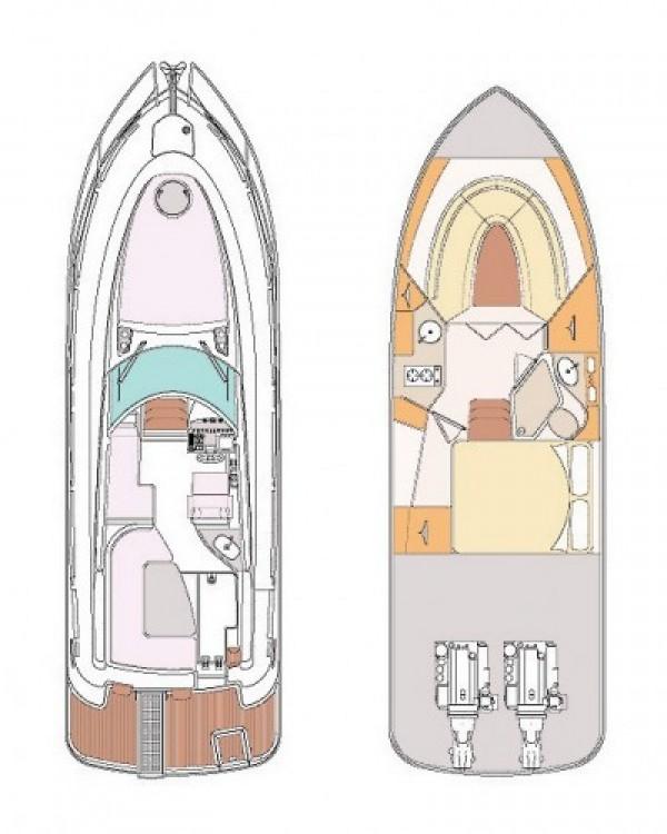 Location Bateau à moteur Pearl-Sea-Yachts-Doo avec permis