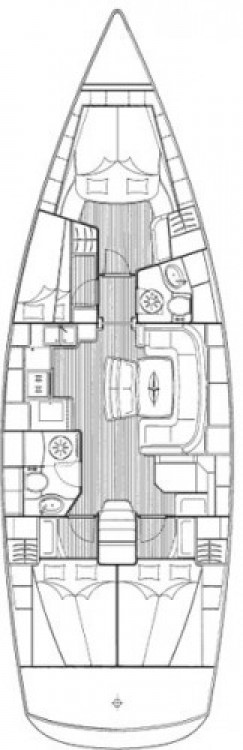 Location bateau Fethiye pas cher Cruiser 46