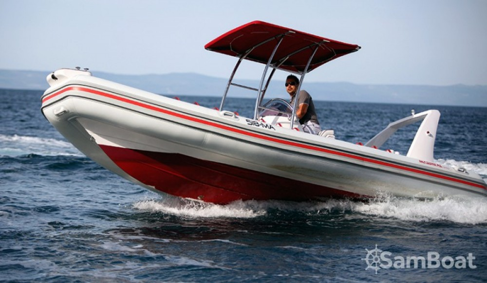 Location bateau Makarska pas cher Maestral 650