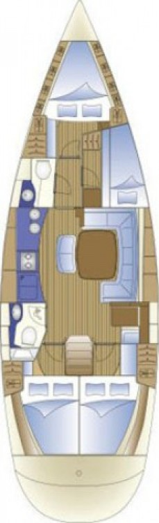 Location bateau Zadar pas cher Bavaria 44