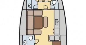 Location yacht à Marina Borik - Dufour Dufour 450 Grand Large sur SamBoat