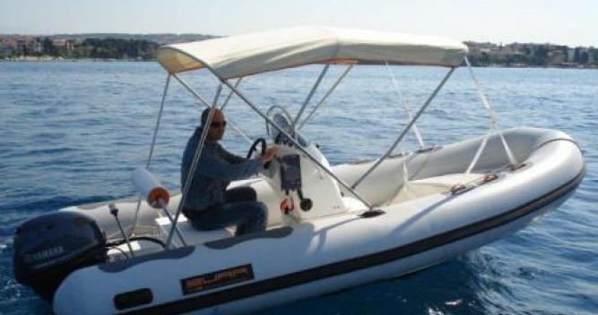 Boat rental Zagreb cheap Bura 5.0