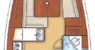 Location bateau Portocolom pas cher Oceanis 37
