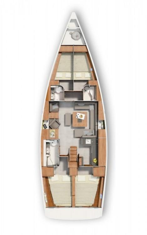 Hire Sailboat with or without skipper Hanse Marina Punat