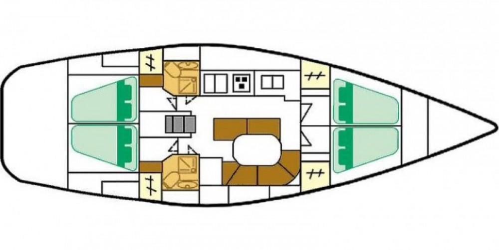 Location Voilier à Lipari - Bénéteau Oceanis 461