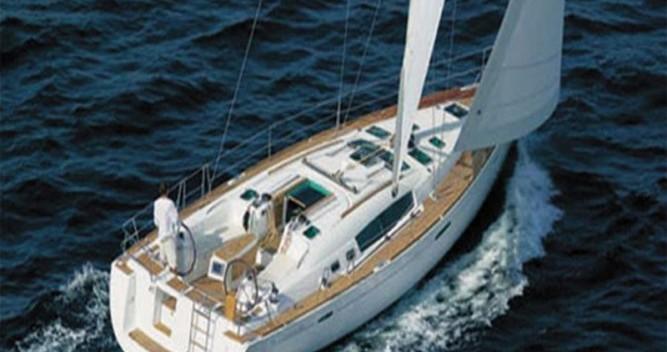 Location bateau Grèce-Centrale pas cher Oceanis 45