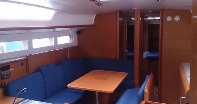 Location bateau Jeanneau Sun Odyssey 509 à Ellinikó sur Samboat