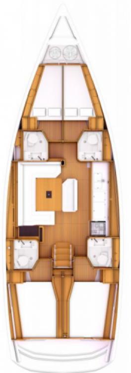 Boat rental Tortola cheap Sun Odyssey 469