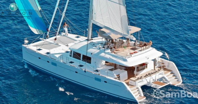Location bateau Komolac pas cher Lagoon 560 S2