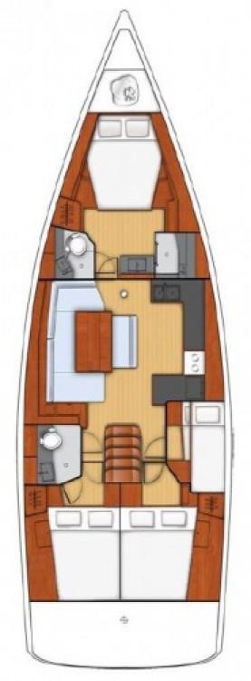 Alquiler de barcos Seget Donji barato de Oceanis 48