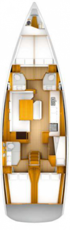 Jeanneau Sun Odyssey 509 entre particulares y profesional Seget Donji