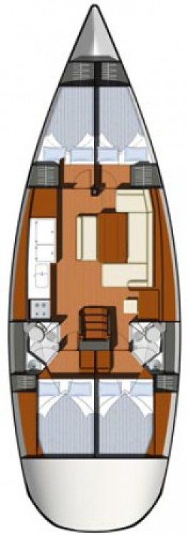Alquiler de barcos Central Greece barato de Sun Odyssey 44i
