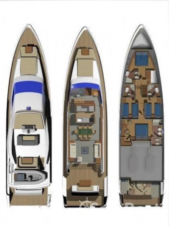 Alquiler de barcos Milazzo barato de Aicon 75 Fly - 4 cab.