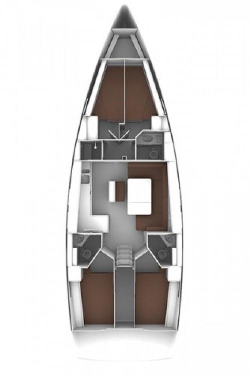 Bavaria Cruiser 46 entre particulares y profesional Seget Donji