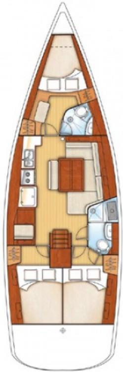 Alquiler de yate Vrsar - Bénéteau Oceanis 43 en SamBoat