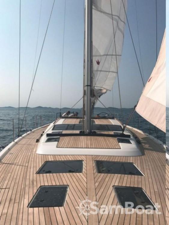 Alquiler de barcos Dufour Dufour Exclusive 56 - 4 + 1 cab. enPrimošten en Samboat