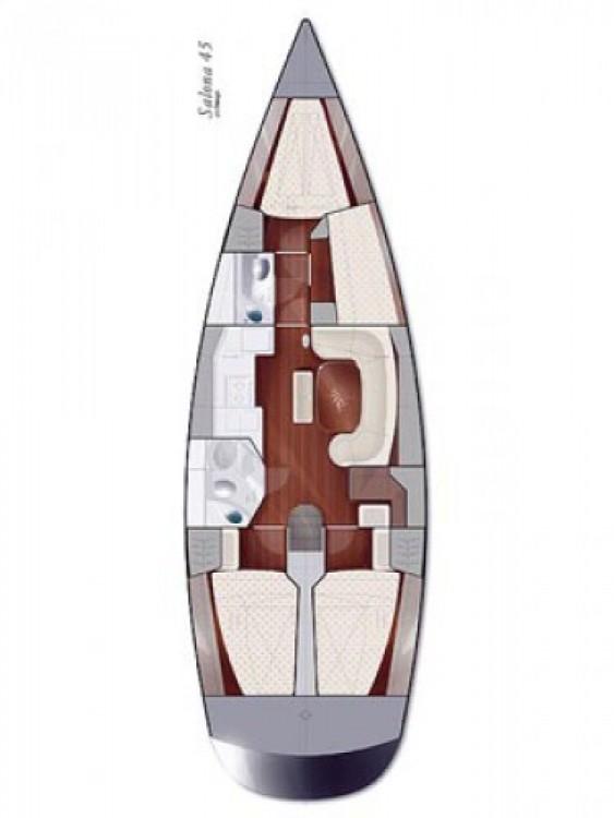 Alquiler de barcos Salona Salona 45 enMarina Punat en Samboat