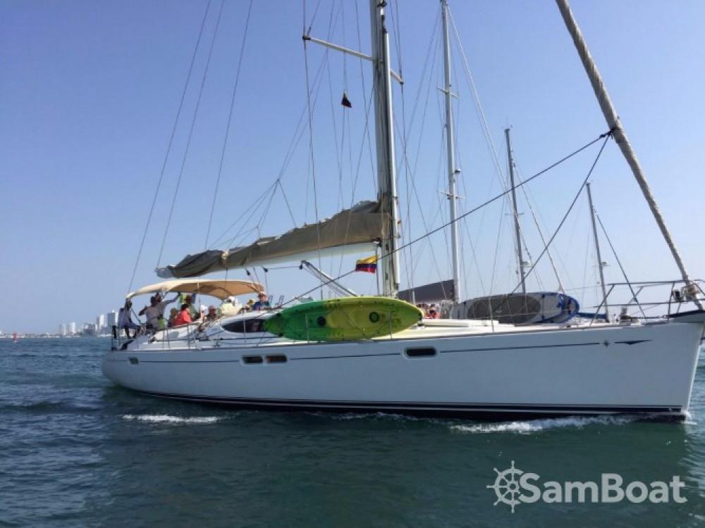 Jeanneau Sun Odyssey 54 DS entre particulares y profesional Cartagena de Indias